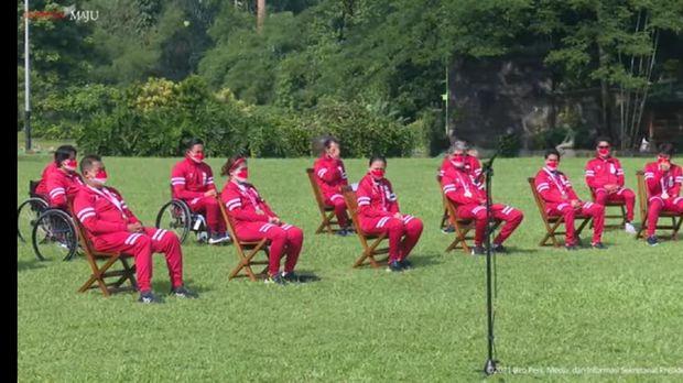 Atlet Paralimpiade Tokyo 2020 dapat bonus dari Presiden RI Joko Widodo