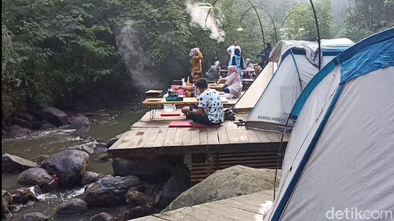 Wisata kemping di Pangalengan