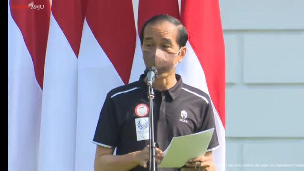 COVID-19 di Banten Turun, Jokowi Minta Tetap Waspada