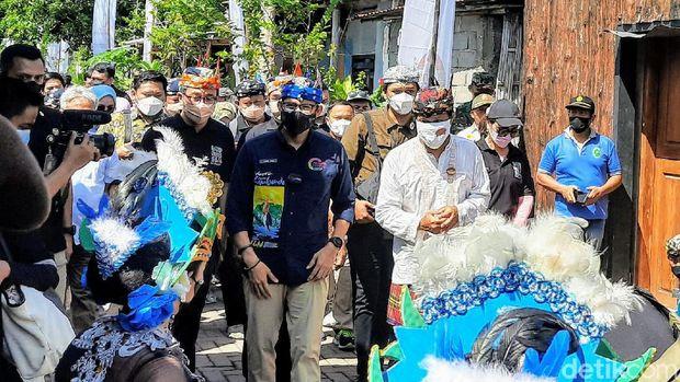 Sandiaga Uno Kunjungan kerja ke Kampung Blekok, Situbondo