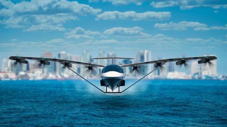 Seaglider, pesawat hibrida dari Regent