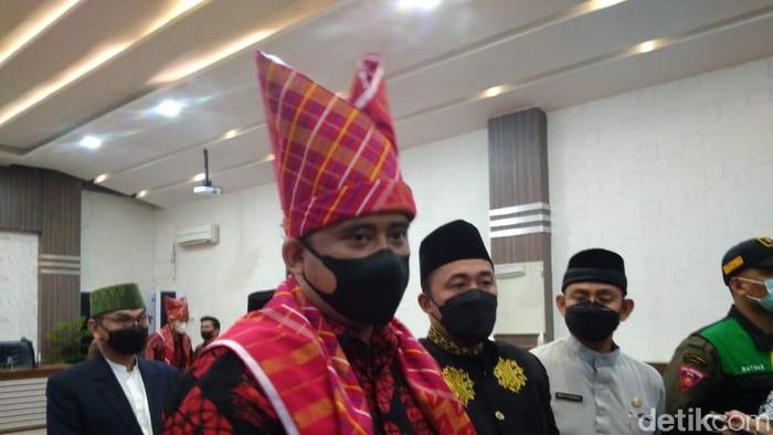 Wali Kota Medan Bobby Nasution (Datuk Haris/detikcom)