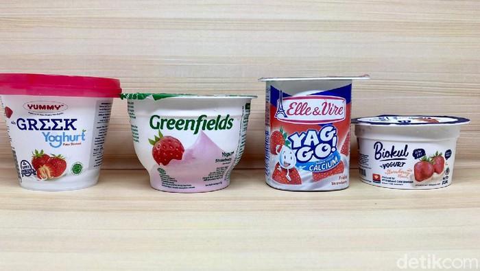 4 Yogurt Strawberry Populer, Mana yang Paling Creamy Segar?
