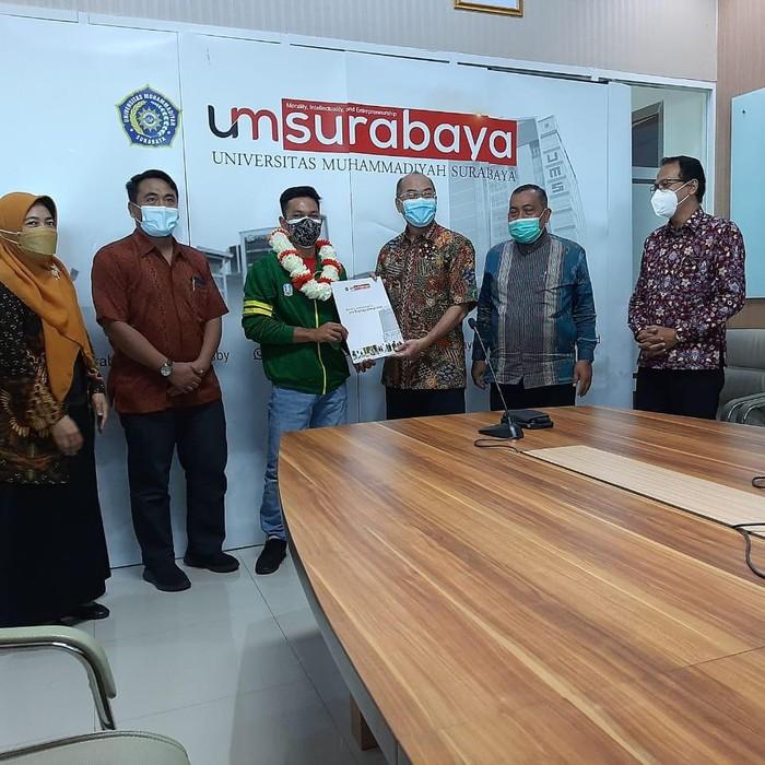 9 Mahasiswa UM Surabaya Wakili Jatim Berlaga di PON Papua 2021