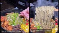 Berani Coba? Tantangan Makan Ramen Super Pedas dengan Topping Segunung