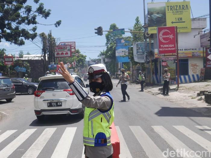 Ganjil genap di Lembang Bandung