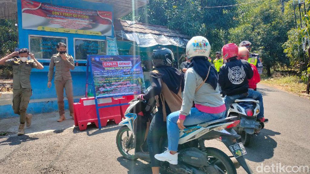 Ganjil Genap di Wisata Paralayang Majalengka, Sejumlah Pengunjung Diputar Balik