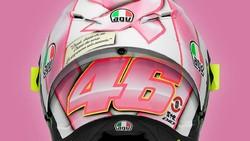 MotoGP San Marino 2021: Rossi Pamer Helm Spesial, Terinspirasi Anak Pertamanya