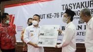 HUT PMI Ke-76, Bupati Kebumen Sumbang 1 Unit Mobil