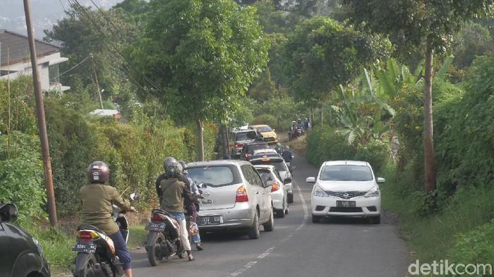 Jalur alternatif ke Lembang Bandung