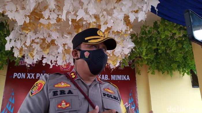 Kapolres Mimika AKBP I Gusti Gde Era Adhinata (Saiman/detikcom)
