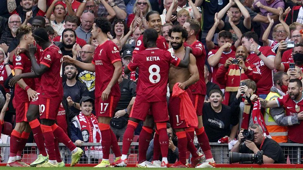 Liverpool Vs Crystal Palace: The Reds Menang 3-0, Puncaki Klasemen
