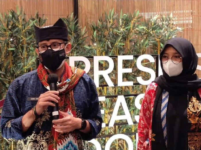 Menparekraf Sandiaga Salahuddin Uno