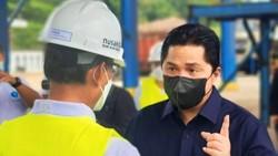Erick Thohir Wanti-wanti PTPN Kejar Luas Lahan Tebu 250 Ribu Ha