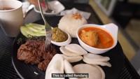Ada Nasi Padang di Korea, Ini Komentar Youtuber Soal Rasanya