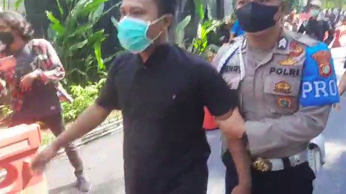 Pelaku narkoba coba kabur ditangkap di Markas Polda Metro Jaya