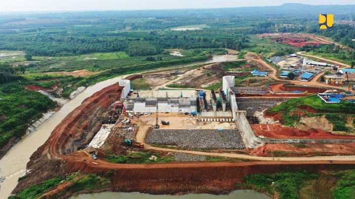 Pembangunan Bendungan Margatiga di Lampung