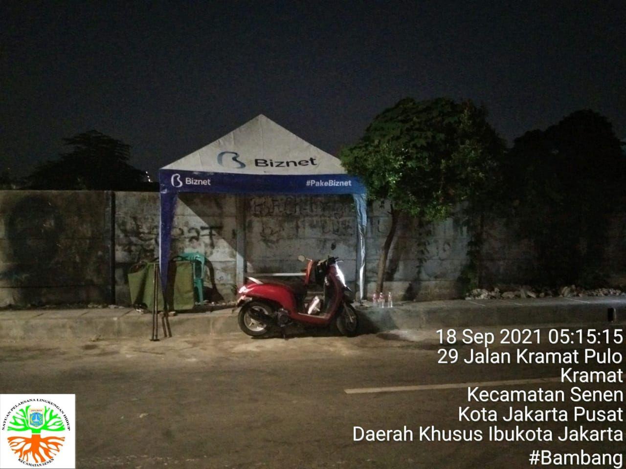 Penanganan dan penjagaan Jl Kenanga di Kramat, Jakpus, dari sampah. (Dok Pemkot Jakpus)
