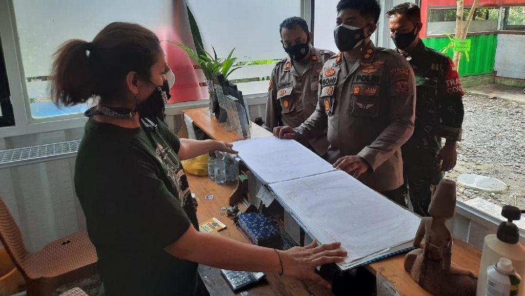Cek Jumlah Tamu, Polisi Sidak Hotel di Pangandaran