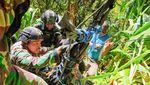 Momen Dramatis TNI-Polri Evakuasi Jenazah Suster Gabriella dari Jurang