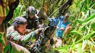Dramatis! Aparat Ditembaki Saat Evakuasi Jasad Gabriella Maelani dari Jurang