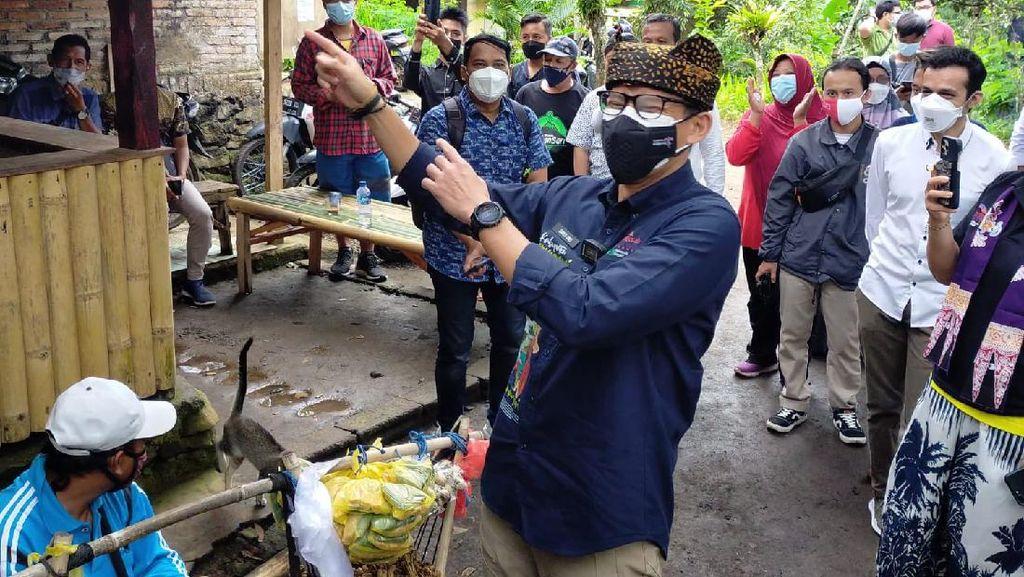 Kunjungan ke Banyuwangi, Sandiaga Uno Didoakan Jadi Presiden