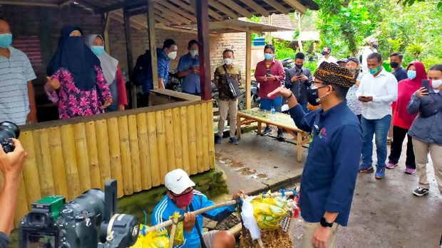 Sandiaga Uno Datang ke Destinasi Wisata di Banyuwangi