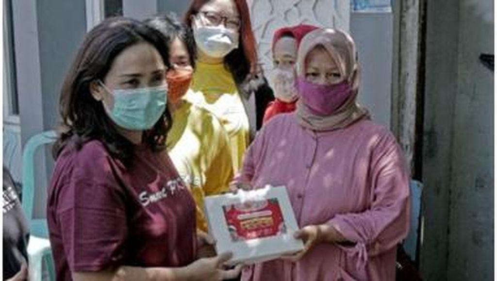Sasa Bagi-bagi 1.000 Nasi Goreng Sambal Matah ke Warga Semarang