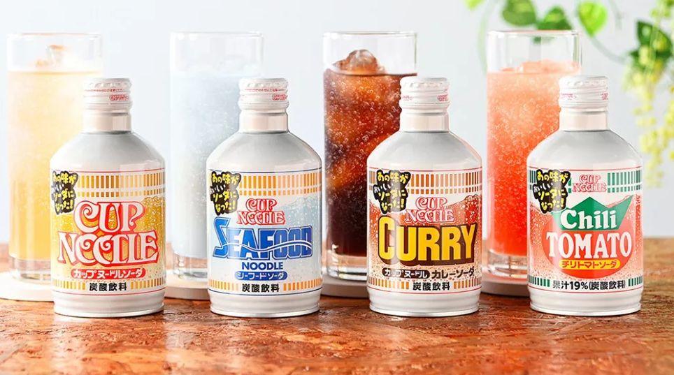 Soda rasa mie instan di Jepang