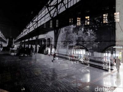 Stasiun Senen Disebut-sebut Tiruan yang di Amsterdam, Jadi Pintu Masuk Pemudik