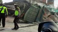 Kemacetan Akibat Truk Terguling di Sukabumi Mulai Terurai