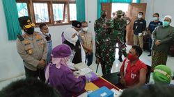 Forpimda Jatim Tinjau Vaksinasi di Malang