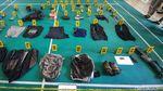 Potret Senpi Laras Panjang-Parang dari Kontak Tembak Tewaskan Ali Kalora
