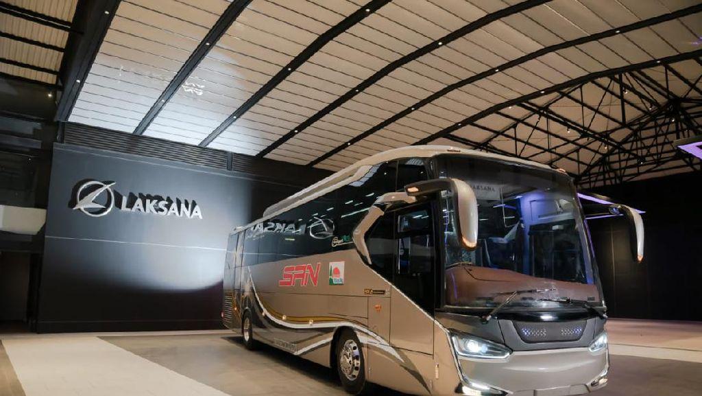 Bus Single Glass Terbaru PO SAN Bakal Layani Rute Mana Saja?