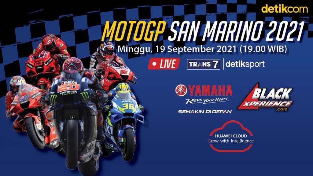 MotoGP San Marino 2021: Yamaha Vs Ducati Lagi, Siapa Menang?
