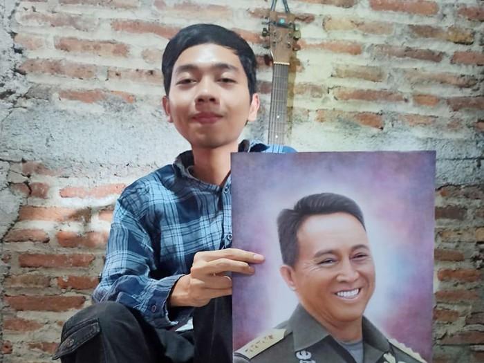 Kakak beradik difabel di Semarang ini mandiri berkat melukis