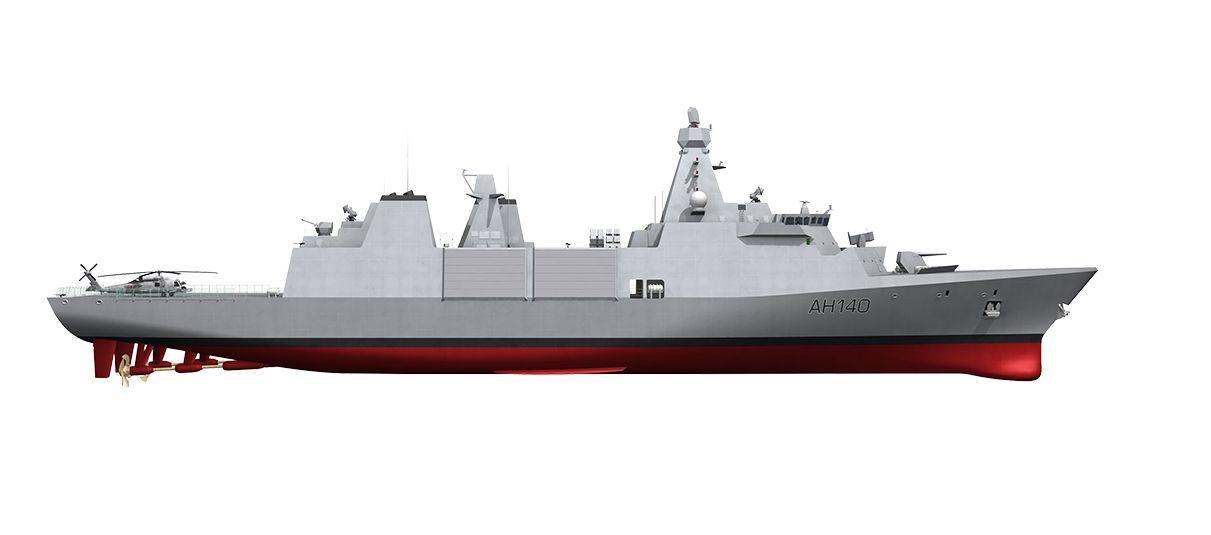 Kapal frigate Arrowhead 140 yang dipesan Kemhan RI