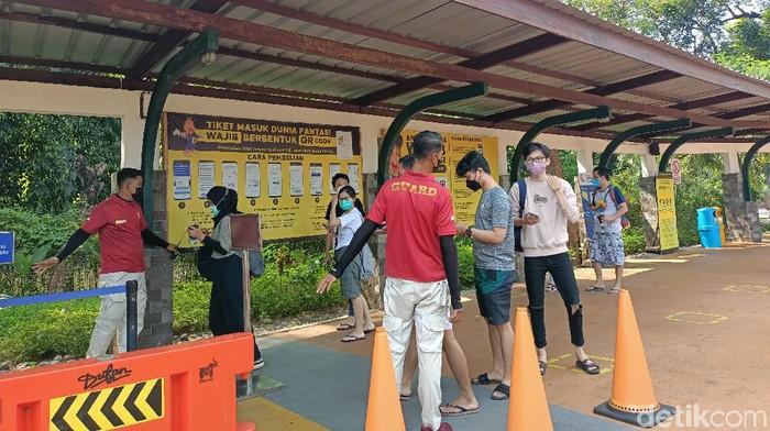 Kawasan Taman Impian Jaya Ancol. (Dok. Karin/detikcom)