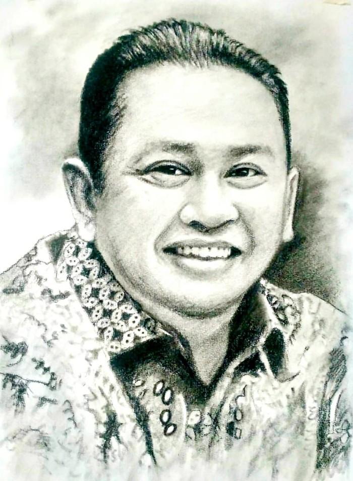 Ketua MPR RI Bambang Soestyo bicara soal keamanan aplikasi PeduliLindungi.