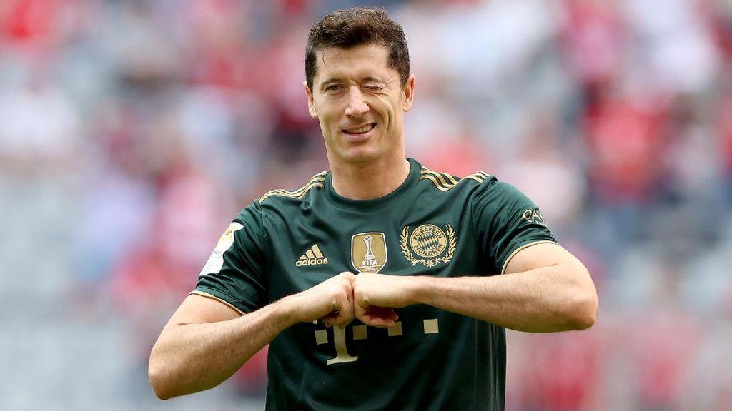 Lewandowski Dapat Sepatu Emas Eropa, Klopp Ikut Senang
