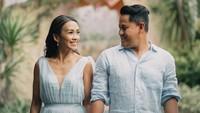 Kisah Cinta Melanie Putria Berlabuh ke Pria yang Lamar di Atas Helikopter