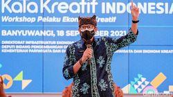 Menparekraf Sebut Banyuwangi Etalase Ekonomi Kreatif Terbaik di Indonesia
