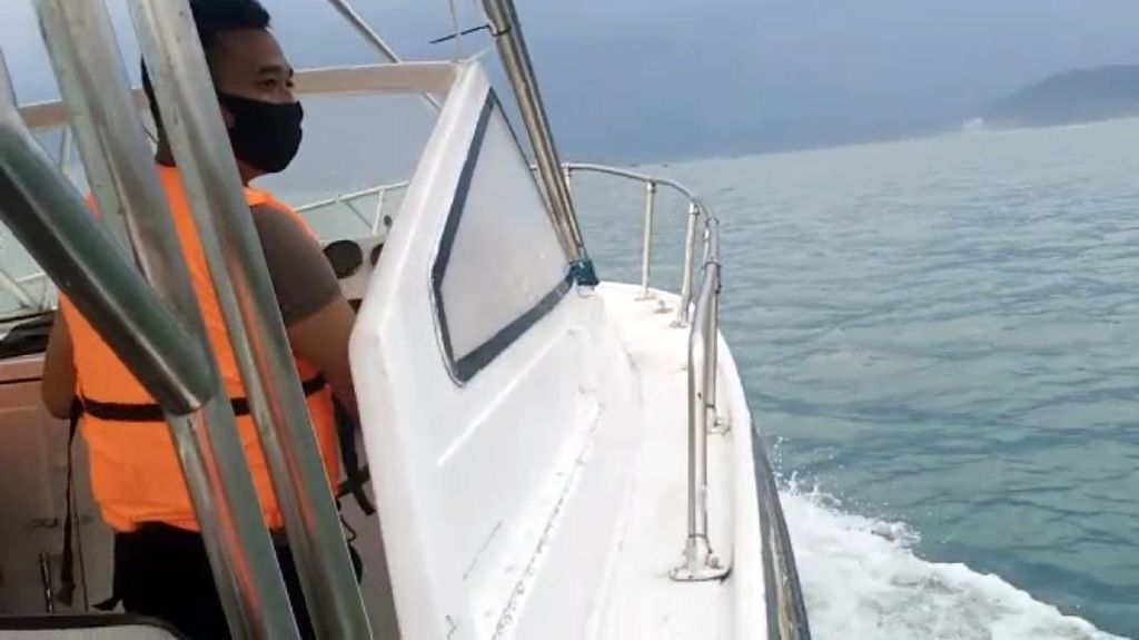 Naik Speed Boat, Polisi Cari Korban Terseret Arus di Teluk Palabuhanratu