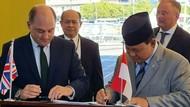 Momen Prabowo Hadiri Teken Kontrak Kapal Frigate Arrowhead 140