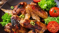 Resep Sayap Ayam Panggang Bumbu Kecap Pedas yang Mantap Bumbunya