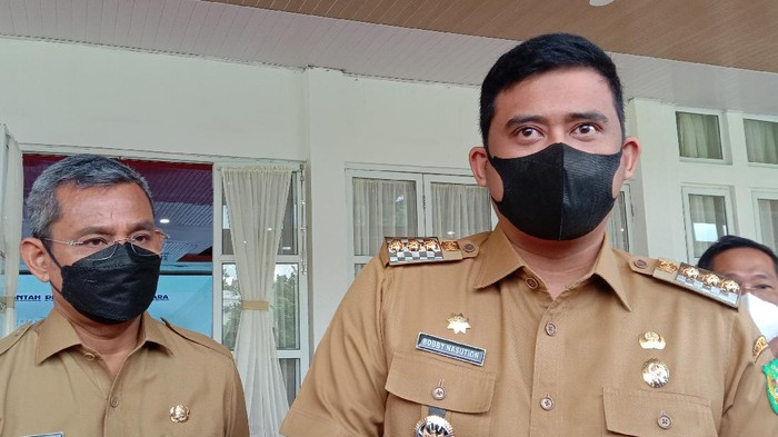 Bobby Nasution (kanan) / Ahmad Arfah-detikcom