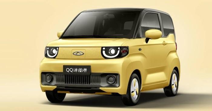 Chery merilis mobil listrik murah seharga Rp 60 jutaan. Namanya Chery QQ Ice Cream