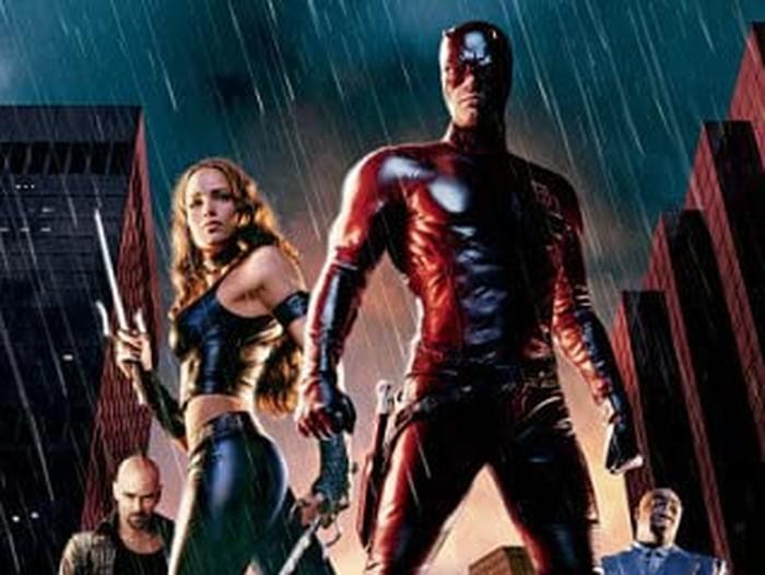 Daredevil digarap oleh Mark Steven Johnson selaku sutradara, Stan Lee dan Bill Everest sebagai penulis komik, dan Ben Affleck sebagai karakter Matt Murdock.