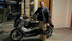 Eks Menteri Agama Lukman Touring 3.400 Km Pakai Skutik 250 cc Termahal di RI