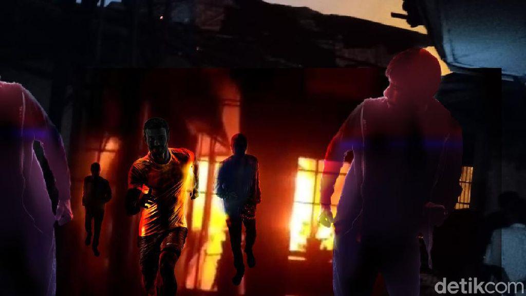 11 Rumah Dilalap Si Jago Merah di Jakarta Barat